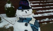Dawn Jeter's Hotty Toddy Snowman